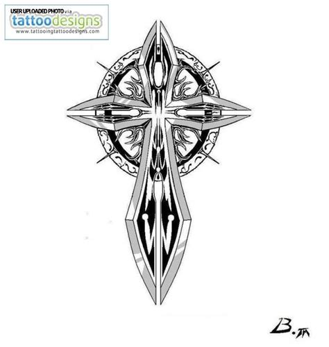 sword cross tattoo sword images designs