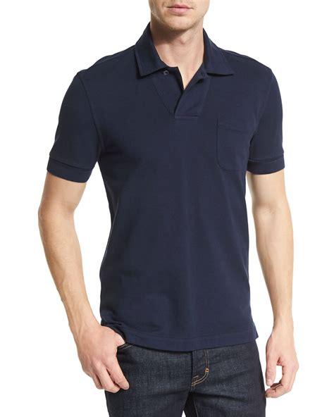 tom ford navy polo shirt weston