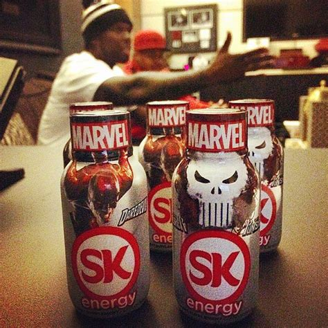 energy drink 50 cent 50 cent s sk energy drink teams up with marvel
