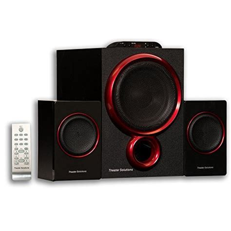 goldwood 2 1 channel home theater speaker system ts212