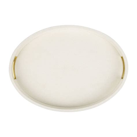 Oval Tray buy aerin shagreen oval tray amara