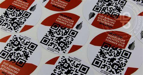 Barcode Aufkleber Drucken Lassen serienaufkleber mit qr code aufkleber produktion de