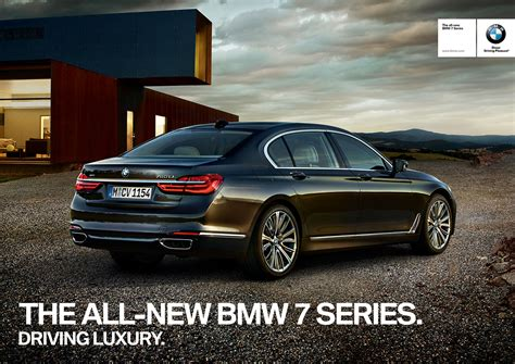 bmw ads 2016 bmw rolls out new 7 series ad caign bimmerfile