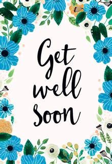 Free Template Get Well Card by Get Well Soon Cards Free Greetings Island