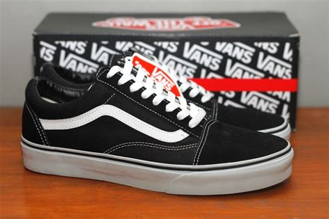 Harga Vans Era All Black vans original era authentic oldskool sk8 hi classic kaskus