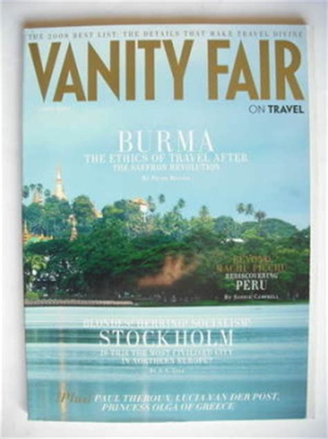 Vanity Fair Travel vanity fair magazine back issues uk for sale page 6
