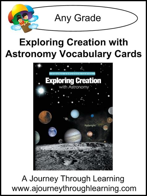 word constellations books apologia exploring creation with astronomy vocabulary