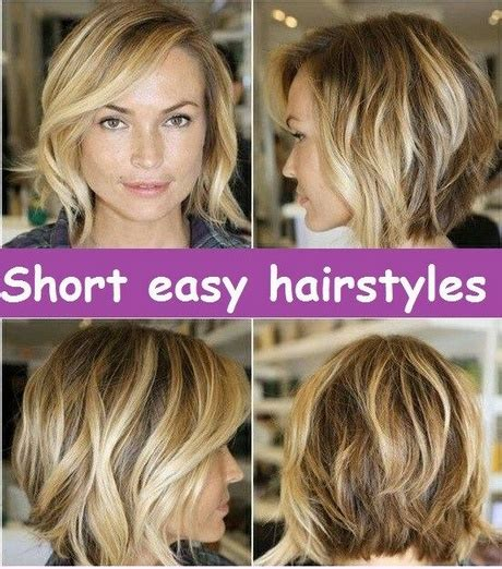 Easy Hairstyles For With Thick Hair by Easy Hairstyles Thick Hair