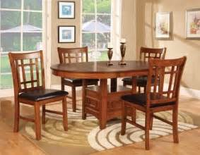 Dining Room Table With Leaf Dining Table 4 Chairs With 18 Inch Leaf Home