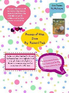 because of winn dixie book report because of winn dixie book report glogster edu