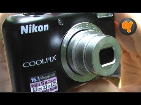 Kamera Nikon Coolpix review nikon coolpix l27 digitalkamera kompakt kamera