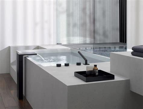 rubinetti cascata bocca per vasca a cascata freestanding a colonna deque