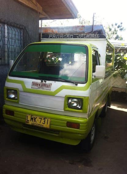 Suzuki Franchise Multicab Passenger With Franchise Used Philippines