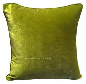 Forest Green Curtains Large Size Soft Feel Velvet Plush Stylish Designer Cushion