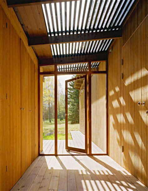 summer cabin design award winning wood house by wrb
