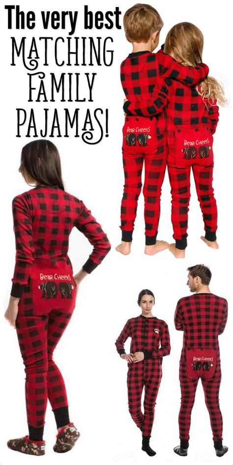 ideas for funny christmas pajama party family pajamas matching pjs sleepwear