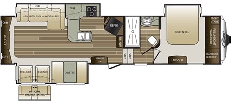 cougar 5th wheel floor plans 2017 keystone cougar 327res cing world of harrisburg