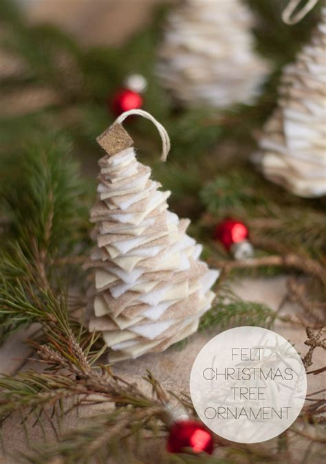 Handmade Tree Ornaments - 25 beautiful handmade ornaments