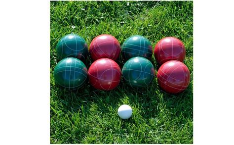 Backyard With Balls New Bocce Set Balls For Lawn Bowling Outdoor