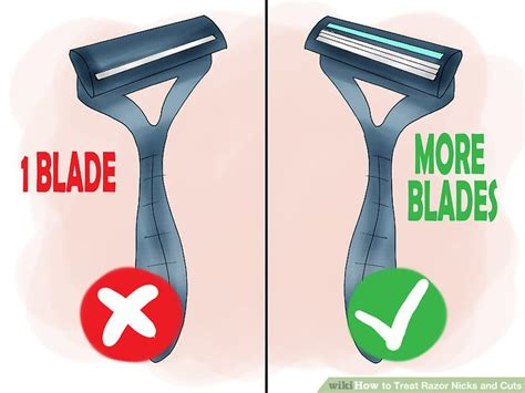 Cut Blade Razor 3 ways to treat razor nicks and cuts wikihow