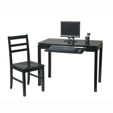 computer desk chair walmart gallery for gt simple black computer desk