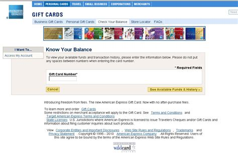 Americanexpress Gift Card Balance - how to check your amex gift card balance letmeget com
