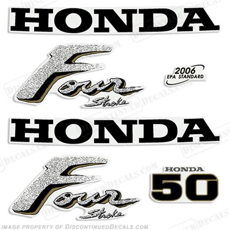 honda outboard 50 hp honda 50hp outboard engine decals