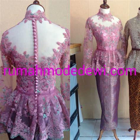 kebaya modern untuk wisuda warna pink warna kebaya 2015 koleksi kebaya modifikasi april 2015