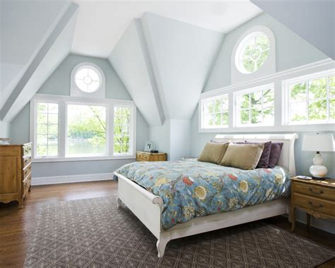 blue paint for bedroom houzz lake house project traditional bedroom new york by