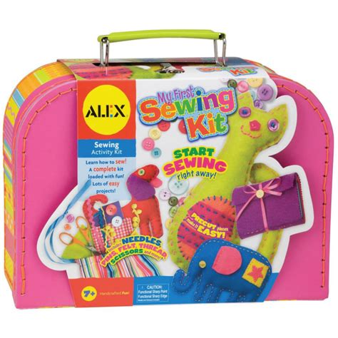 kid craft kits my sewing kit for alex craft kits at