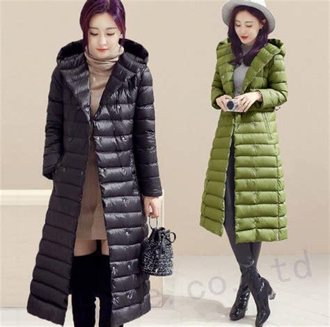 Jaket Winter Winter Coat Jaket Parka 58 winter slim warm duck coat parka jacket hooded outwear quilted ebay