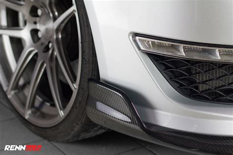 renntech adds carbon fiber details to the mercedes benz