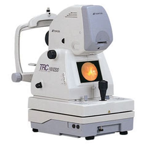 used topcon trc nw200 fundus camera for sale dotmed