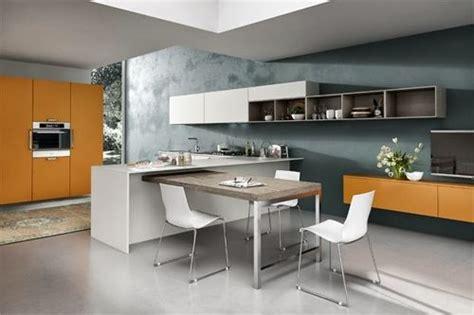 mesas funcionales  decorar cocinas pequenas