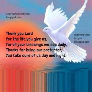 short thanksgiving prayers blessings short prayer of thanksgiving short prayers for you
