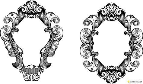frame design in vector vector oval ornate frames ornate frame stock vectors