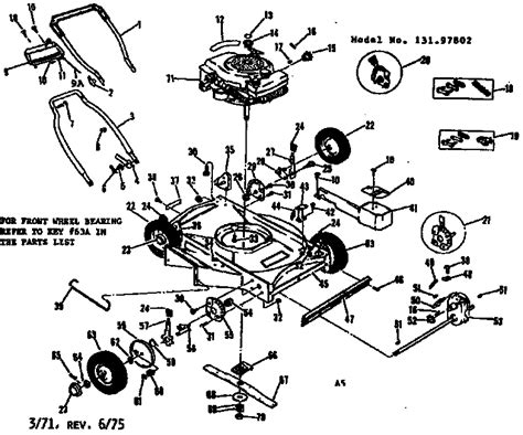 craftsman self propelled lawn mower parts diagram craftsman craftsman 22 in self propelled lawn mower parts