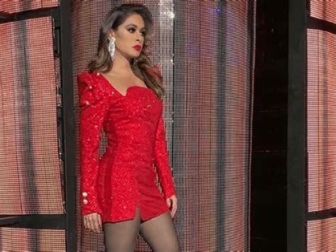 el elegante vestido rojo de galilea montijo que la hizo robar miradas en premio lo nuestro el lujoso y atrevido minivestido de galilea montijo en peque 241 os gigantes el debate
