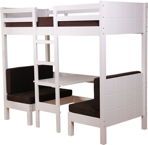 sweet sleeper bed white high sleeper bed sweet dreams play the home and