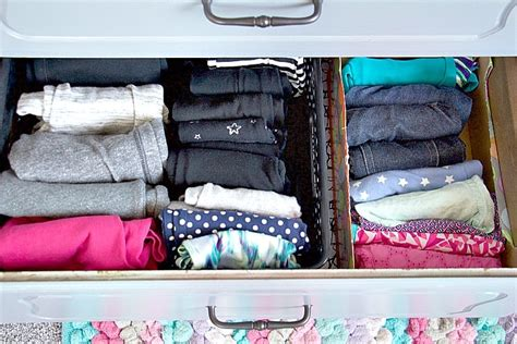 Organizing Clothes Without A Dresser by How To Organize Dresser Drawers Like A Professional
