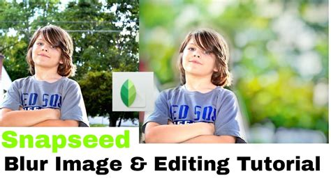 snapseed tutorial white background how to blur image background like dslr with snapseed app