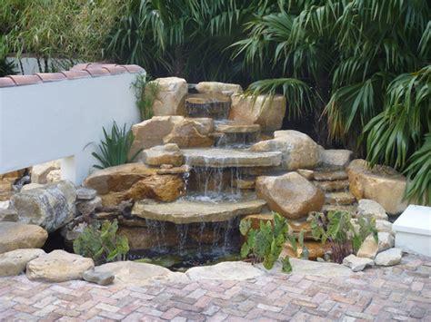concrete waterfall koi pond amazing pond ideas waterfall