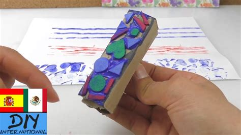 ideas para hacer manualidades con ni os usando palitos de helado 7 ideas para hacer sellos como hacer sellos caseros