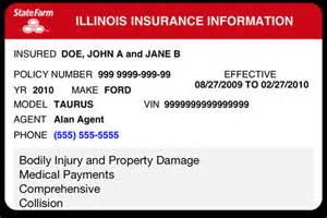 insurance id card template 6 best images of progressive insurance card template