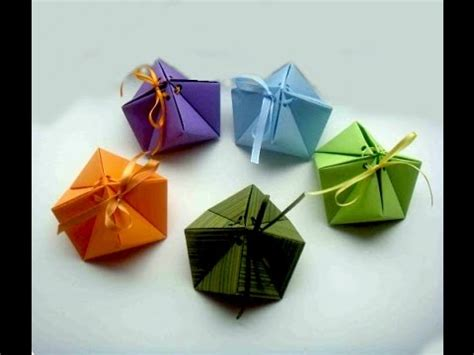 Present Origami - origami gift box origami box quot quot 9 corners great