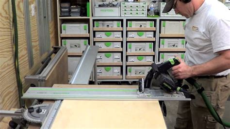 Building Cabinets With Festool by Building Kitchen Cabinets Part 1 Cutting Plywood To Size