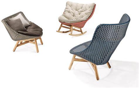designboom rocking chair sebastian herkner s outdoor mbrace chair collection for