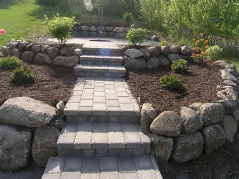 Paver Patio Slope Building Brick Paver Patio On Slope Building Brick Paver Patio Dzuls Interiors