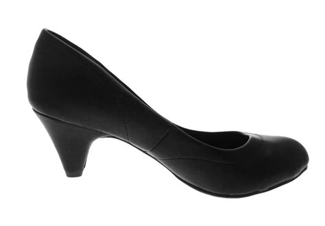 Comfortable Heels Uk by Womens Low Stiletto Heels Comfort Work Office Everyday