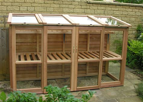 Shelf Designs For Garage cedar tall coldframe by woodpecker joinery